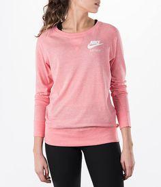 Women's Nike Gym Vintage Crew Shirt| Finish Line
