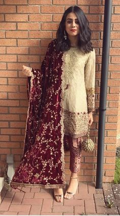 For Price & Queries Please DM us or you can Message/WhatsApp 📲 We provide Worldwide shipping🌍 ✅Inbox to place order📩 ✅stitching available🧣👗🧥 &shipping worldwide. 📦Dm to place order 📥📩stitching available SHIPPING WORLDWIDE 📦🌏🛫👗💃🏻😍 . Pakistani Fashion Party Wear, Pakistani Wedding Outfits, Indian Fashion Dresses, Dress Indian Style, Indian Designer Outfits, Indian Outfits, Punjabi Wedding, Simple Pakistani Dresses, Pakistani Dress Design