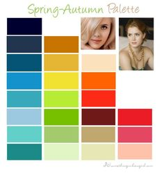Warm Spring Color Palette | Yourbasic neutral colors: cream, beige, camel, warm brown, navy