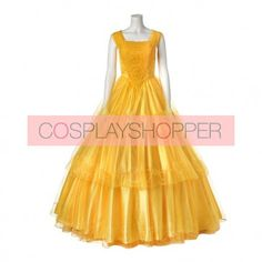 2017 New Movie Beauty and the Beast Belle Princess Dress Cosplay Costume - Version 2 Disney Cosplay Costumes, Halloween Costumes, Princess Belle Dress, Maid Cosplay, New Movies, Beauty And The Beast, Blue Dresses, Halloween Costumes Uk, Halloween Outfits
