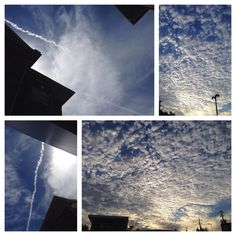 Weather Modification in Houston, Texas. I took these photos. :)) Geoengineering.