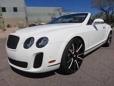 2012 Bentley Continental GT Supersports Convertible 2-Door 2012 Bentley Convertible