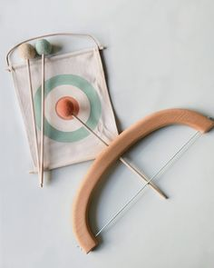 Odin Parker - Shop AllWooden bow and arrow toy Wooden Bow And Arrow, Montessori Toys, Montessori Homeschool, Montessori Materials, Stacking Toys, Natural Toys, Homemade Toys, Kids Wood, Wood Toys