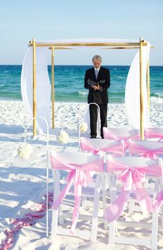 destin beach wedding officiate