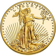No Longer Available - 2013 American Eagle One Ounce Gold Proof Coin