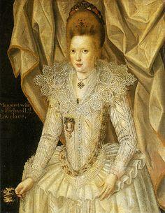 Margaret, wife of Richard Lovelace by John de Critz the Elder