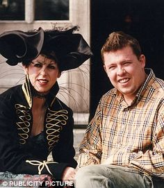 Firm fan: Blow famously bought McQueen's entire graduate collection for £5,000, and went on to become a close friend and ardent supporter of his work and career