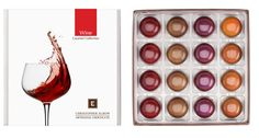 Wine Infused Caramel Collection by Christopher Elbow