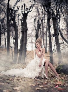 Fairytale by Eric - Fashion bridal themed shoot.