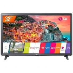 Smart TV LED 32 HD LG 32LK615BPSB 2 HDMI 2 USB Wi-Fi e Conversor Digital Integrados com as melhores condições você encontra no Magazine Lojajessi. Confira! Smart Tv, Quad, Wi Fi, Karaoke, Tv Oled, Monitor Tv, Mini System, Cabo Hdmi, Dvd Player