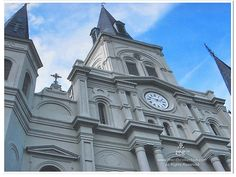 St Louis Cathedral New Orleans Photo Matted by theRDBcollection on Etsy