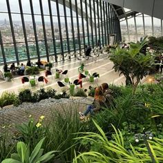 The Walkie Talkie building has a Sky Garden. | 18 Things No One Tells You About London