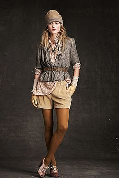 Crew Fall 2010 Ready-to-Wear Fashion Show Collection Mode Style, Style Me, Cute Fashion, Fashion Show, Fall Lookbook, J Crew Style, Look Vintage, Designer Collection, Short