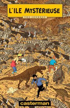 Les Aventures de Tintin - Album Imaginaire - L'Île Mystérieuse