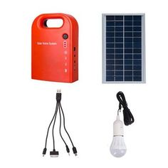 Rs.3918.78    Only US$59.99, buy best Portable Solar Power Bank Panel 2 LED Lamp with USB Cable Battery Charger Emergency Lighting System sale online store at wholesale price.US/EU warehouse.