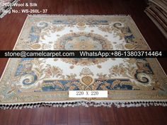 wool silk carpet,100% handmade #carpet#rug#persiancarpet#persianrug
