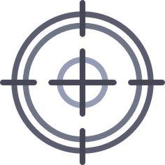 Circular Target free vector icons designed by Freepik