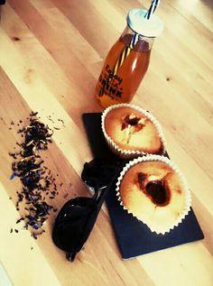 Thé glacé et Muffins Nutella #icetea #théglacé #muffins #Nutella #été  #printemps #spring #summer #dessert #boisson #drink #cuisine #cook #coffeeshop