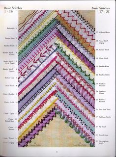 AN ENCICLOPEDIA OF CRAZY QUILT STITCH - monica cruz - Álbuns da web do Picasa