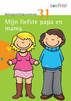 thema moederdag en vaderdag - gratis download - knutselactiviteiten - liedje - versje - tellen - wiskunde - 1e kleuterklas