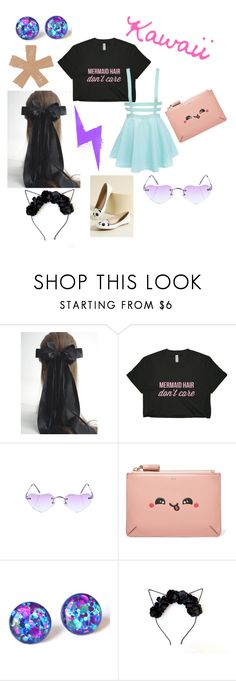 """""""Kawaii"""" by chelsea-atencio ❤ liked on Polyvore featuring Replay and Anya Hindmarch"""