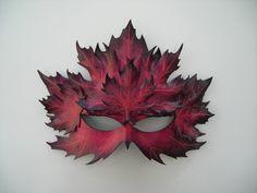 Máscara de hoja de arce multicapa: Original por wingandtalon