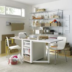 Hobby Table | Crate and Barrel