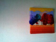 weave by cornelia sheep tapiz de lana de cornelia sheep