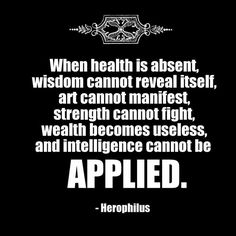 The importance of #health