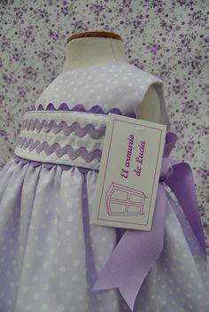El armario de Lucía: febrero 2012...the rick rack trim makes this dress