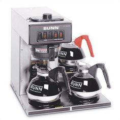Special Price VP17-3 Pourover Coffee Maker in Stainless Steel (Three Lower Warmers)