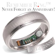 The Anniversary reminder ring heats up once a year. Concept ring by Alaska Jewelry