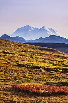 Mount McKinley, Denali National Park, Alaska; photo by .Yves Marcoux