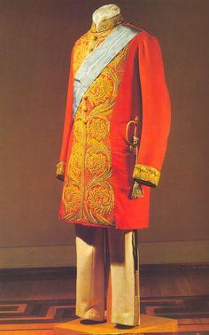 full court dress senator c1850- 1900 of the Russian court