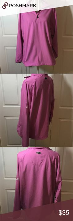 Adidas Climaproof Pullover Sz XL / 100% Polyester / 2 Side Pockets / No flaws. B9 Adidas Tops