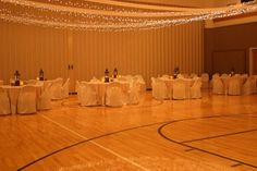 decorate lds gym wedding receptions   Room Decorations