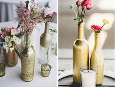 Faça você mesma a decoração do seu casamento! Esse estilo está super em alta, misturando com o vintage e o boho cheio de detalhes rústicos e de itens reaproveitados!