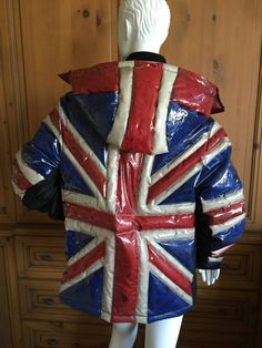 union jack haute couture | Jean Paul Gaultier Union Jack Puffer Coat NWT at 1stdibs