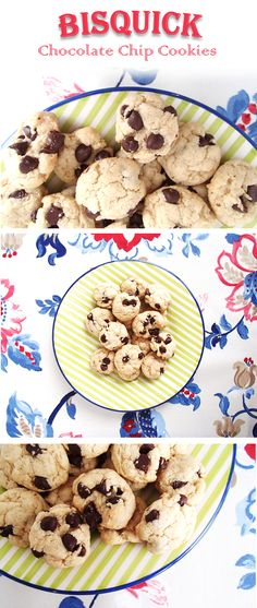 Delicious Bisquick Chocolate Chip Cookies!! These are absolutely delicious!!! Loved them! Definitely will be making them again!