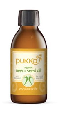 Organic Neem Seed Oil - used in Ayur Vedic medicine as a fantastic anti bacterial and anti fungal treatment.