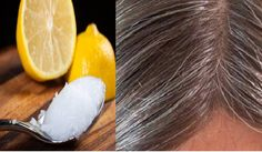 Coconut Oil and Lemon Mixture: It Turns Gray Hair Back to Its Natural Colo. Premature hair graying is a great concern for many younger adults since it makes them look much older than they are.