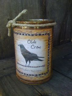 Can Candle  Rusty Can Candle  Scented  by DebsCandlesandDreams, $11.99