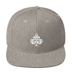 5cce216868b8e Spades Embroidered Snapback Hat. Snapback Hats