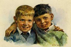 """С.Низовая. """"ПРИЯТЕЛИ"""" (""""Изогиз"""", 1955 год)"""