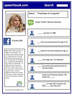 Swift/Bieber pronoun FB activity - - Re-pinned by @PediaStaff – Please Visit http://ht.ly/63sNt for all our pediatric therapy pins