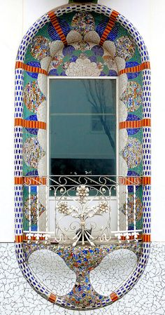window in Barcelona - http://www.nomad-chic.com/the-architecture-of-style-balmain.html