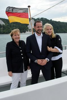 Princess Mette-Marit - Princess Mette-Marit and Prince Haakon of Norway Visit Northern Germany