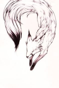 fox by ~theumbrella on deviantART. YES YES YES THIS IS A BEAUTIFUL PIECE TO TURN…