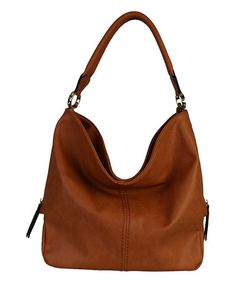 Look what I found on #zulily! Brown Chic Hobo by Diophy #zulilyfinds