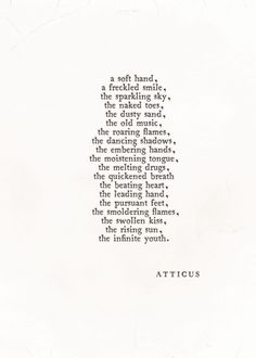 'Infinite Youth' #atticuspoetry #atticus #poetry #poem #loveherwild #youth